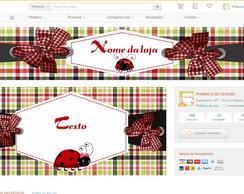 Kit para loja elo7 joaninha Promo��o