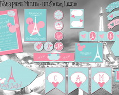Paris Shabby Chic Kit Festa digital