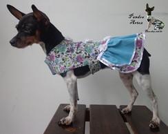 Vestido com tiara