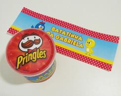 R�tulo para Pringles Galinha Pintadinha