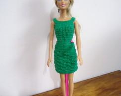 Roupa Barbie - Conjuntinho Verde