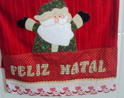 Toalha de rosto Papai Noel