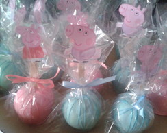 Ma�a de chocolate da Peppa pig