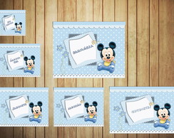 Kit Higiene Baby Mickey