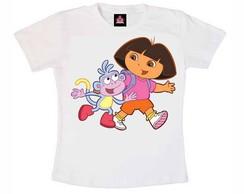 T-shirt Dora e Botas