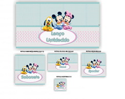 Kit Toilete Infantil Baby Disney