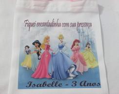 Sacolinha Personalizada Princesas