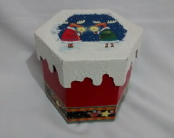 Caixa Sextava Porta Panetone