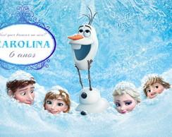 Painel Personalizado Digital Frozen GELO