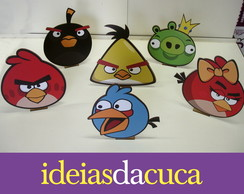 Angry Birds Display - 6 P�s em Mdf