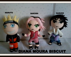 PERSONAGENS DO NARUTO EM BISCUIT