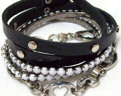 MIX PULSEIRA CASUAL BLACK