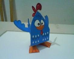 Paper Toy 3D Galinha Pintadinha