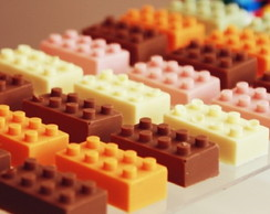 Chocolate do Lego - Comest�vel