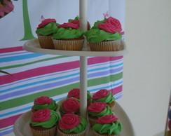 M�dio Cupcake Rosas