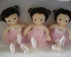 Loca��o Bailarinas - Kit com 3 bonecas