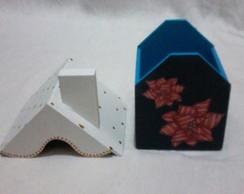 Lembrancinha - Casa Natalina Azul