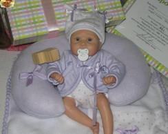 Mini Beb� Reborn c/ Enxoval Maternidade