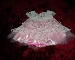 vestido de beb� princesinha