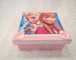 Caixa Frozen Ana e Elsa