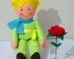 Boneco Pequeno Pr�ncipe Roupa Verde