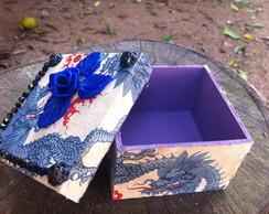 caixa drag�o azul