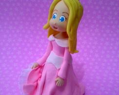 Topo de Bolo Princesa Aurora
