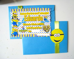 Convite Personalizado - Minions
