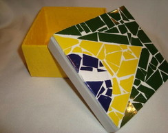 Caixinha bandeira Brasil