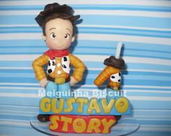 Wood Toy Story Topo de bolo