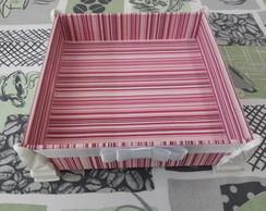 caixa / bandeja para kit toilet