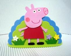 Molde Porta Guardanapos Peppa Pig em EVA
