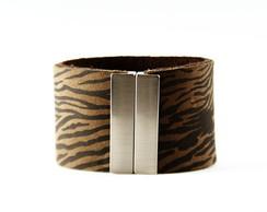 Bracelete Zebra marrom