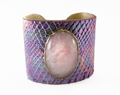Bracelete Rosa furta-cor