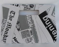 Bolsa Tecido de jornal