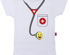 Body Infantil Doutor Baby
