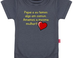 Body Infantil Papai e eu