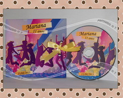 CD ou DVD Personalizado Balada