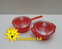 Kit Mini Panelinha e Ca�arola