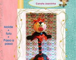 Apostila Caneta Decorada Joaninha