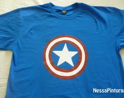 Camiseta Capit�o America- Adulto
