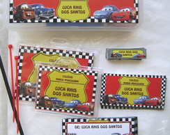 Kit Escolar: Carros bras�o
