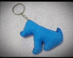 Chaveiro Blue Dog