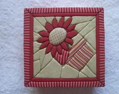 Caixa organizadora patchwork