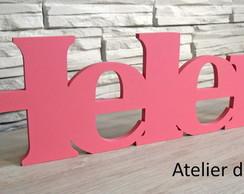 Nome Decorativo - rosa