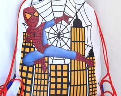 Mochila personalizada: Homem Aranha