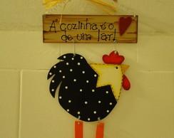 Placa galinha d'angola