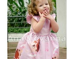 Vestido Infantil Bailarina