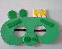 mascara rei porco angry birds