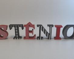 Letras para anivers�rio com 7cm
